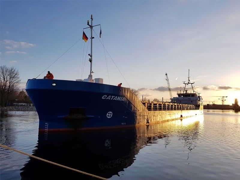 General cargo ship Catania