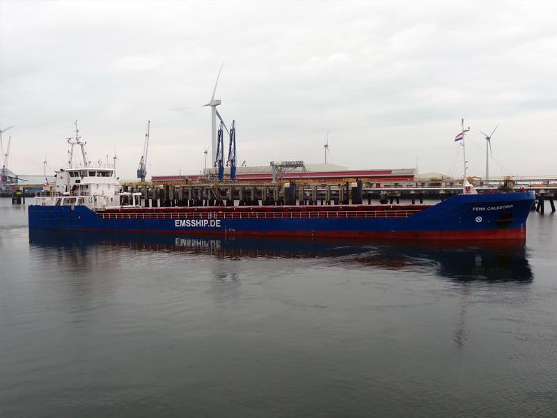 General cargo ship Fehn Caledonia