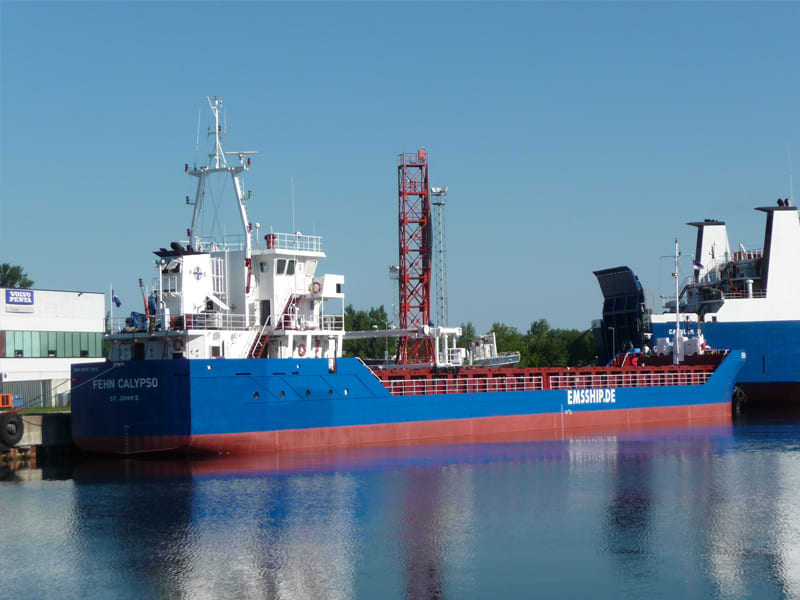 General cargo ship Fehn Calypsoe