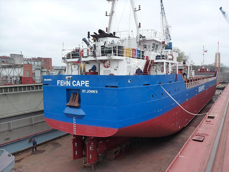 General cargo ship Fehn Cape