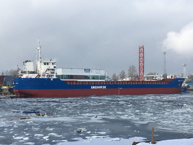 General cargo ship Fehn Companion