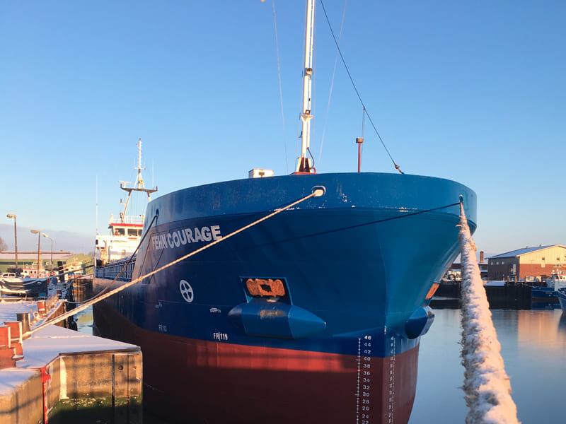General cargo ship Fehn Courage