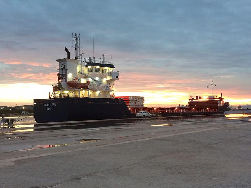 General cargo ship Fehn Lyra