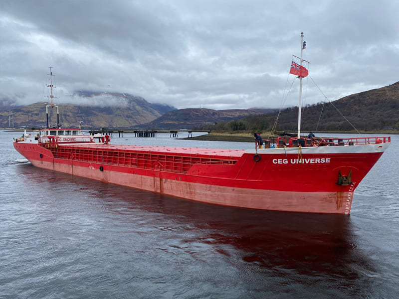 General cargo ship CEG Universe